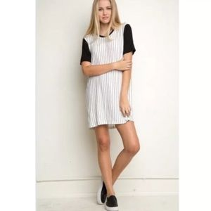 Brandy Melville Luna Baseball Tshirt Dress